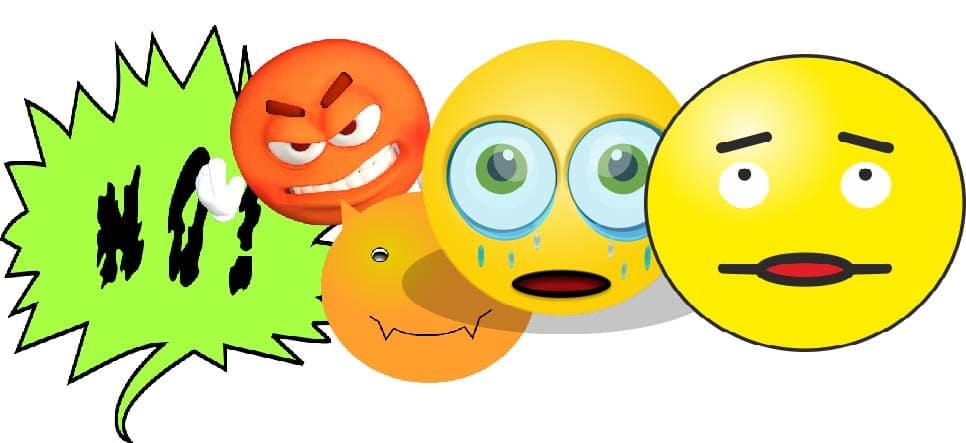 émotions au cours du travail de deuil